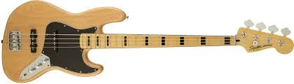 SQ CV 70's Jazz Bass Natural