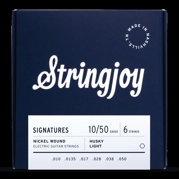 Stringjoy Balanced Husky Light (10-50) Nickel Wound Electric Guitar Strings