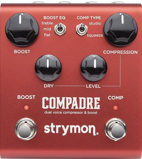 Strymon Compadre Dual Voice Compressor Boost Pedal