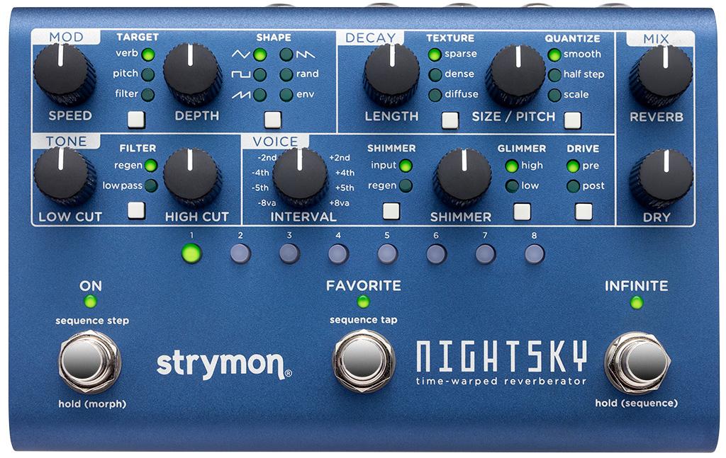Strymon Nightsky Time Warp Reverberator