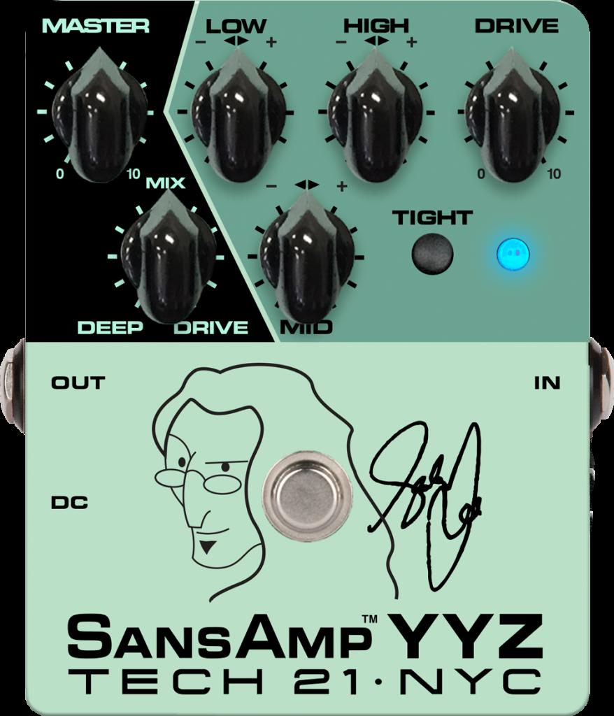 Tech 21 YYZ Geddy Lee Signature SansAmp