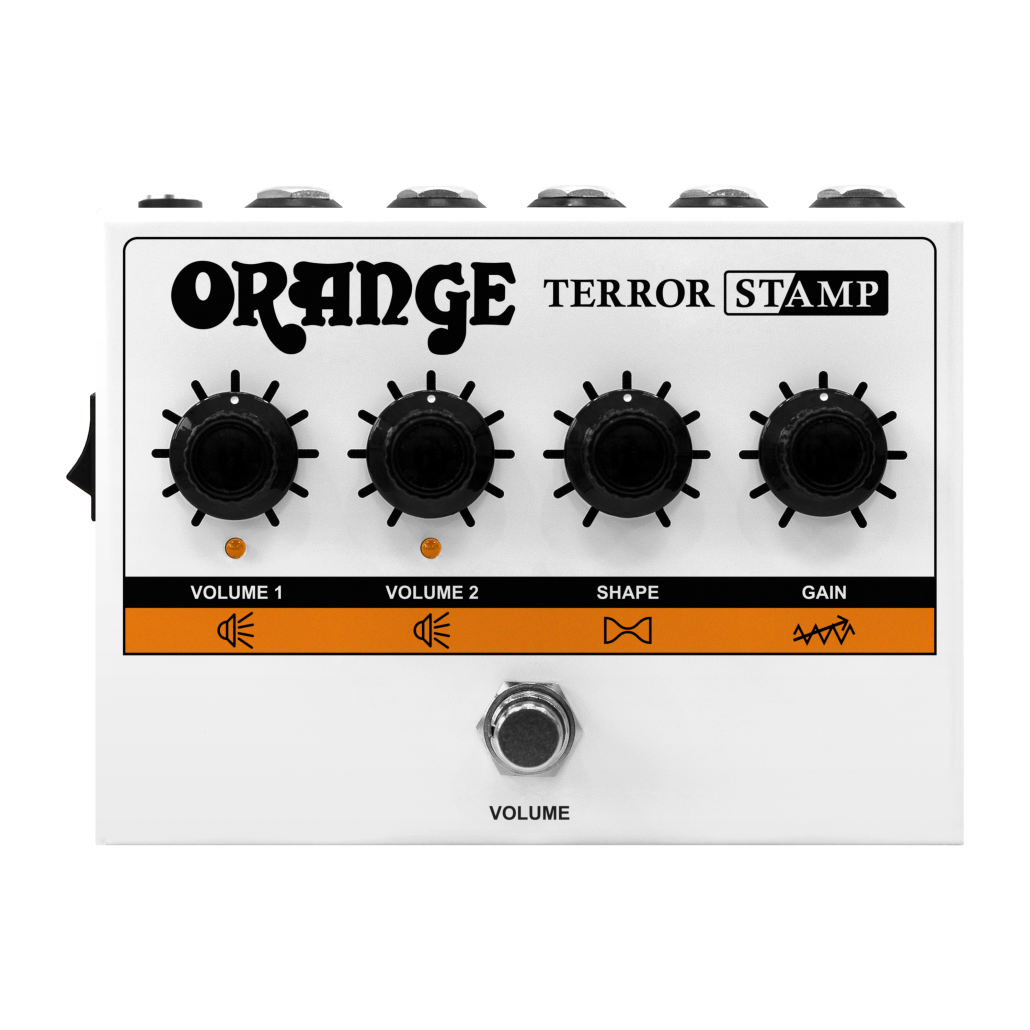 Orange Terror Stamp 20 Watt Amp Pedal