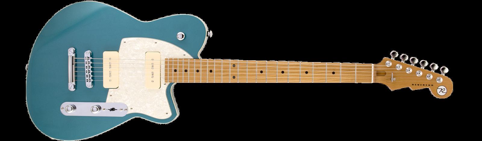 Reverend Guitars Charger 290 Deep Sea Blue