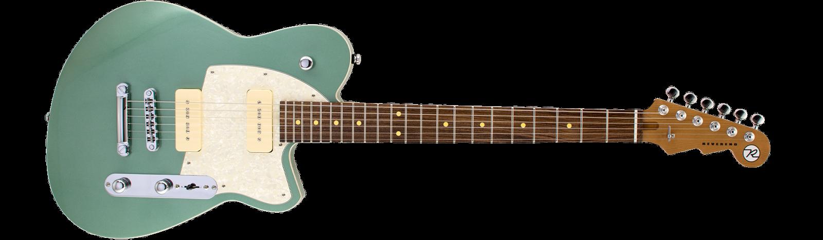 Reverend Guitars Charger 290 Metallic Alpine