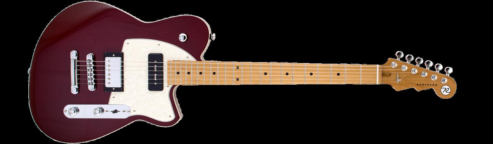 Reverend Guitars Double Agent OG Medieval Red