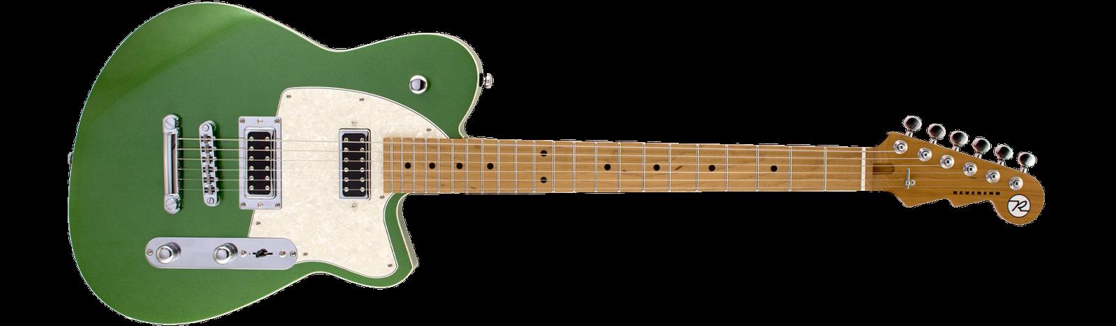 Reverend Guitars Flatroc Emerald