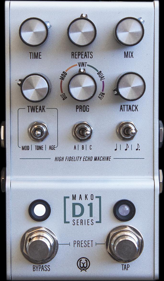 Walrus Audio MAKO Series D1 High Fidelity Delay