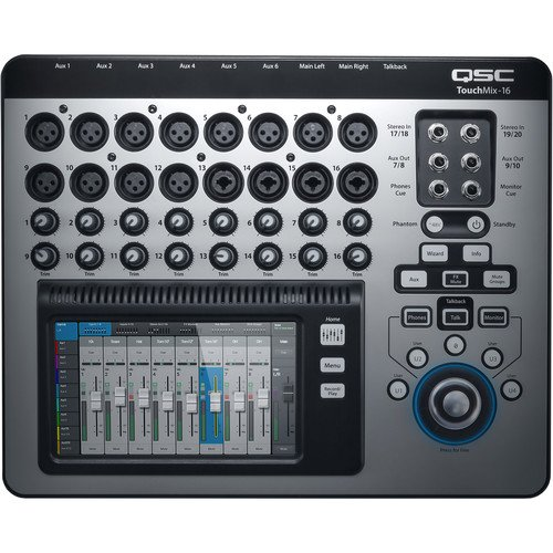 Touchmix 16  Digital Audio Mixer w case