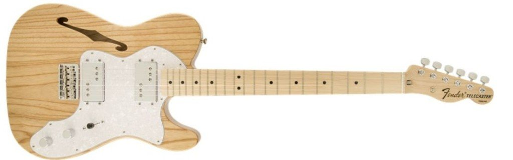 Fender 72 Tele Thinline MN Nat
