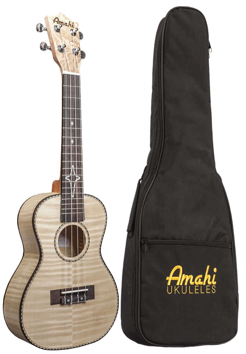 Concert Flamed Maple Uke