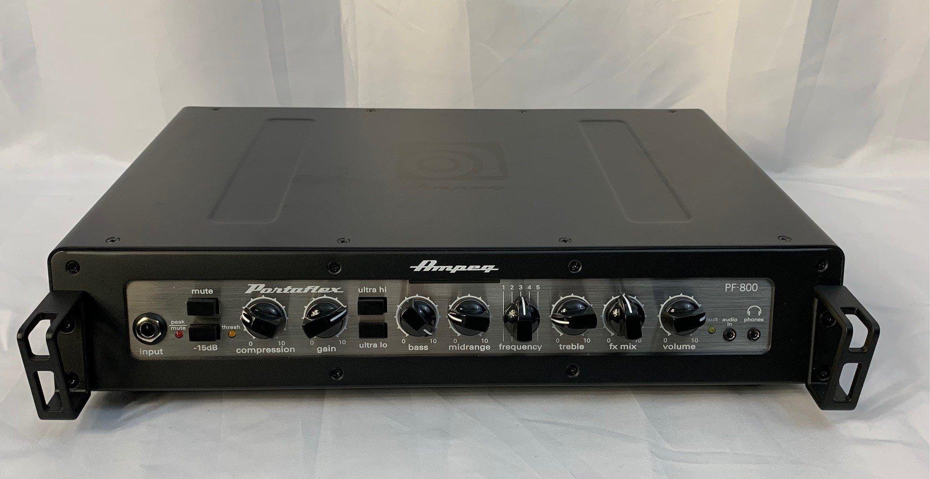 Used Ampeg PF800 Bass Head