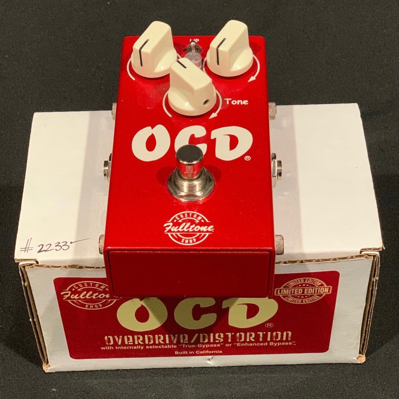 Used Fulltone OCD  LTD  Distortion Pedal