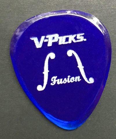 Fusion Guitar Pick Blue