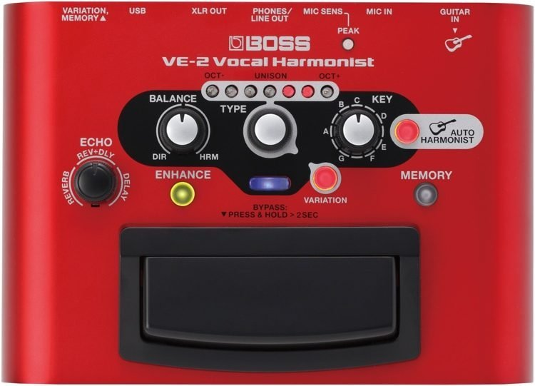 Boss VE-2 Vocal Effects