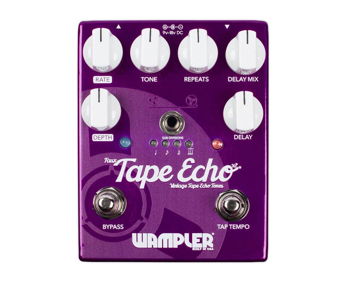 Paisley Faux Tape Echo