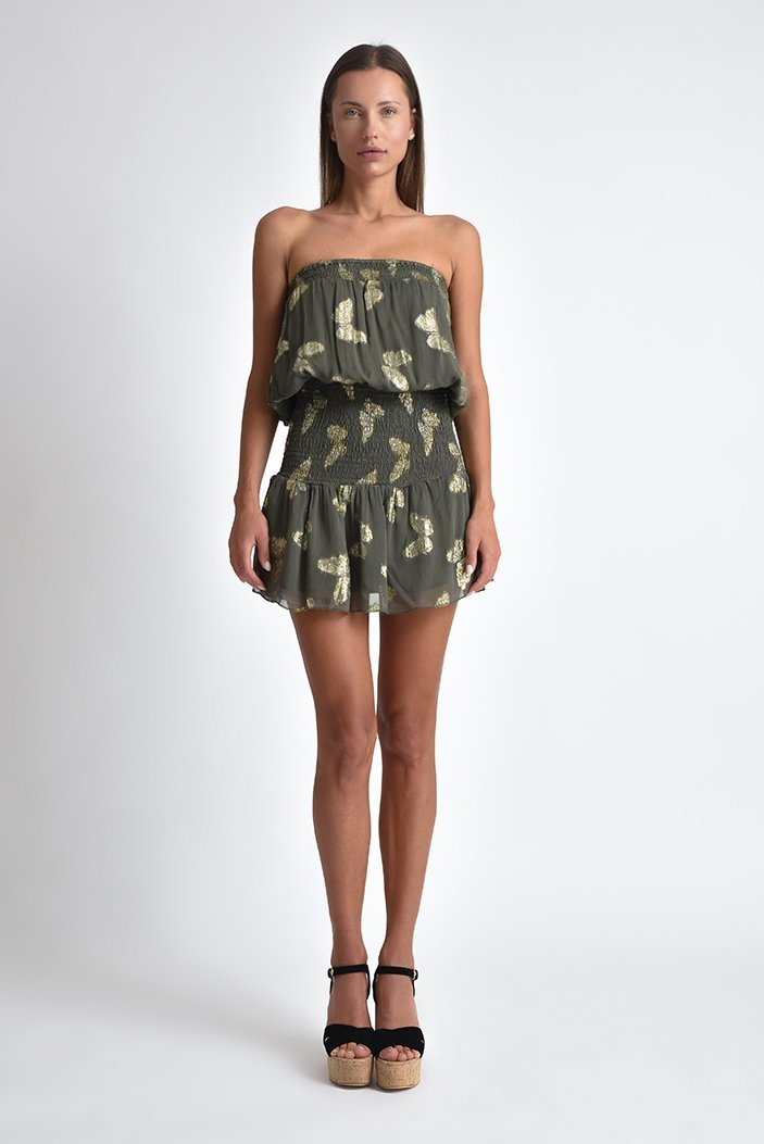 Butterfly Jaquard Dress