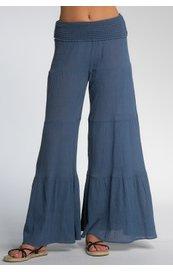 Ruffle Wide Leg Pant