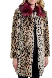 Astrid Animal Print Coat