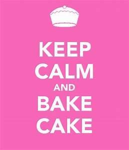 Keep Calm/Bake