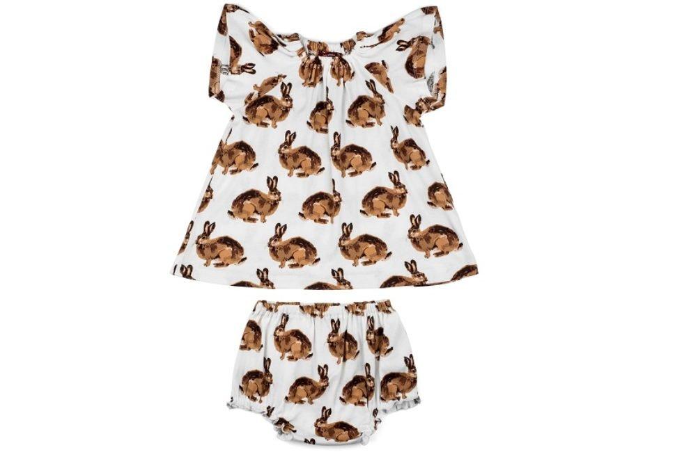 MB Dress & Bloomer Set