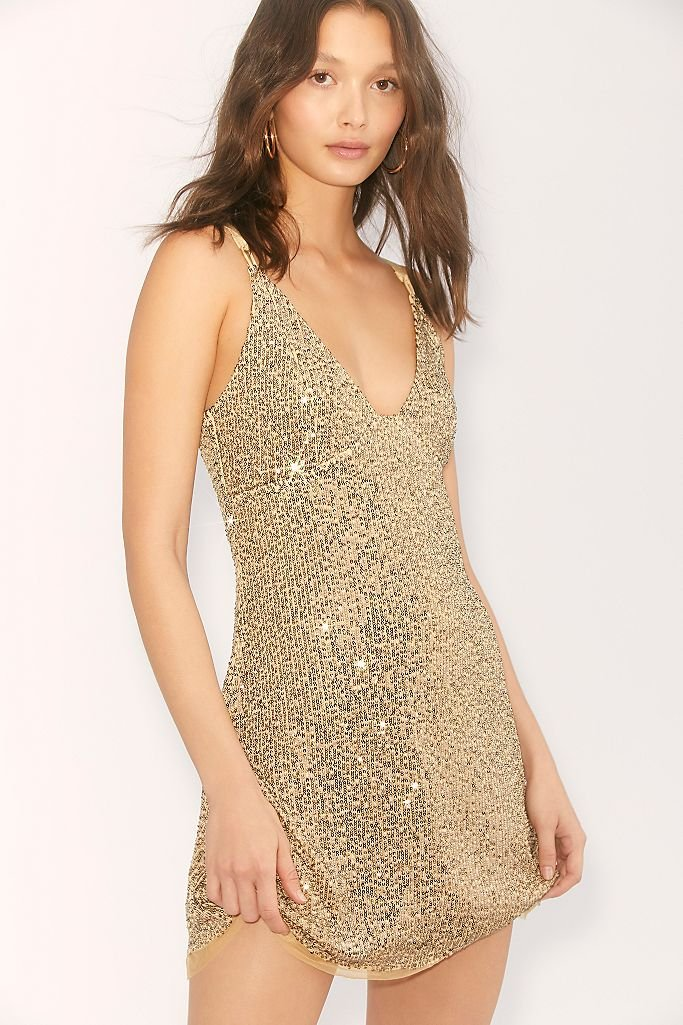 FP Sequin Dress