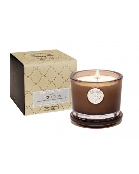 Luxe Linen Candle