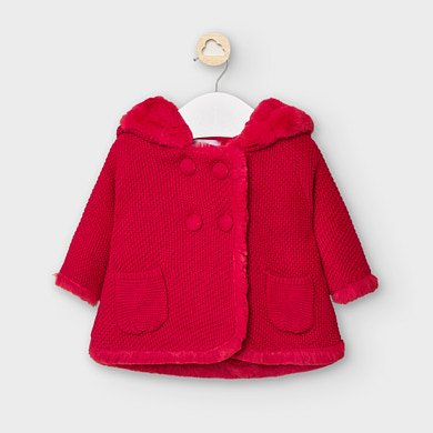 RED Jaquard Sweater