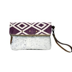 RED Rug Clutch