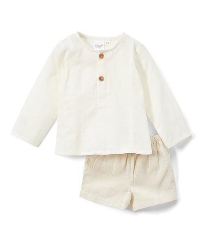 Linen Short Set