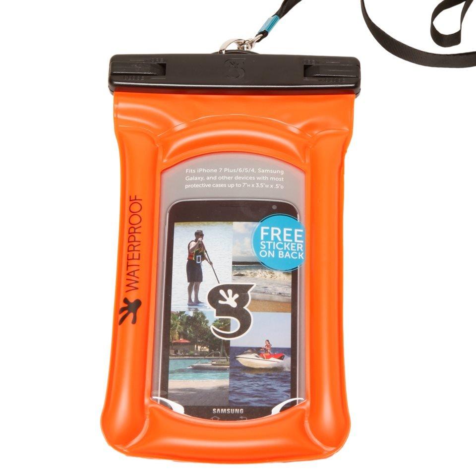 Geckobrands Waterproof & Float Large Phone Dry Bag