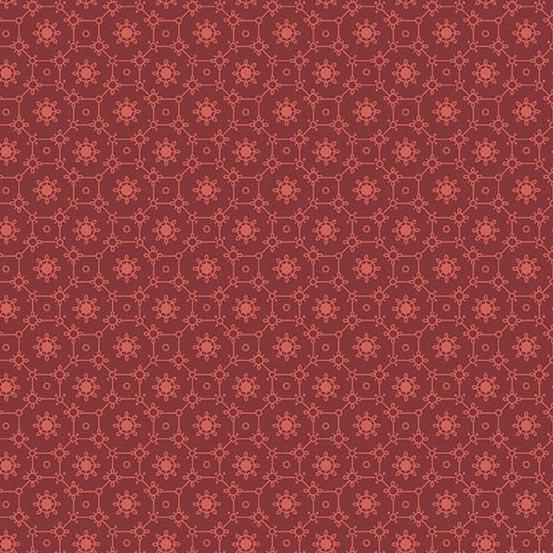 Braveheart Mulled Wine Tile A-9181-R by Laundry Basket Quilts