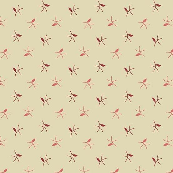 Braveheart Parchment Twigs  A-9184-RL by Laundry Basket Quilts