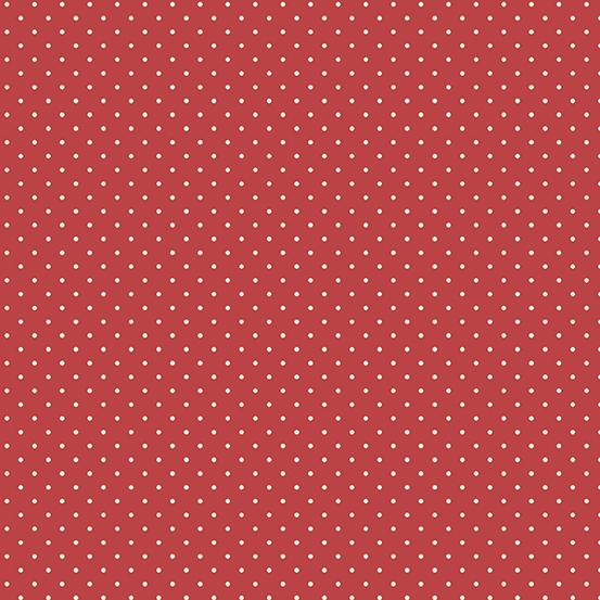 Anna Raspberry Freckles A-9359-R by Laundry Basket Quilts