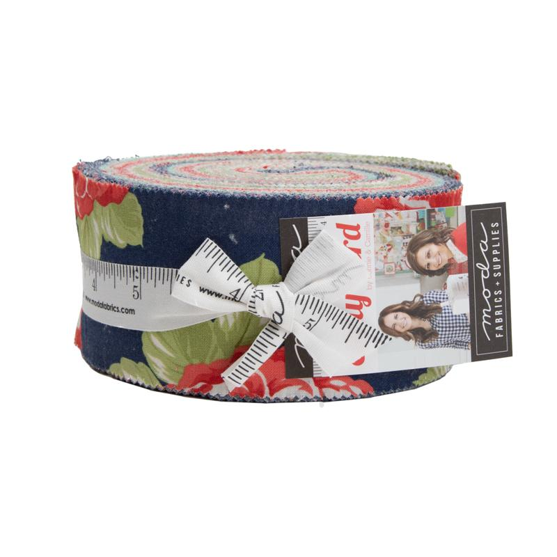 Early Bird Jellyroll by Bonnie & Camille for MODA