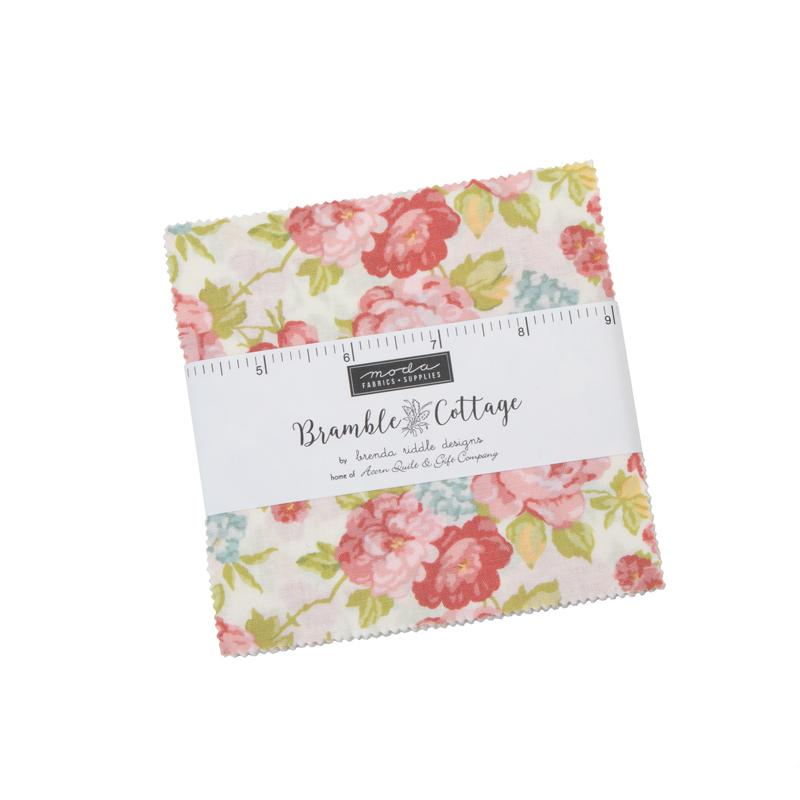 Bramble Cottage Charm Pack by Brenda Riddle for MODA Fabrics