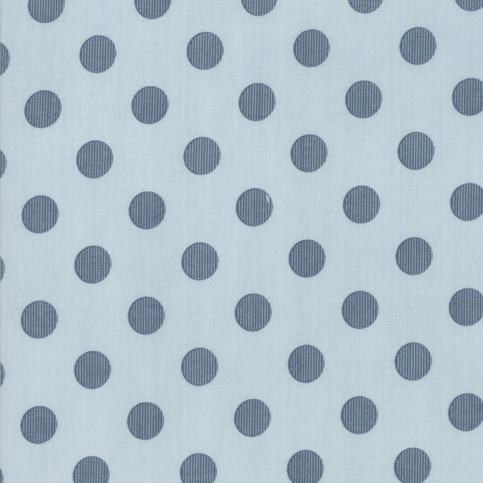 Harvest Road by Lella Boutique Modern Dots Smokey Blue 5103-15