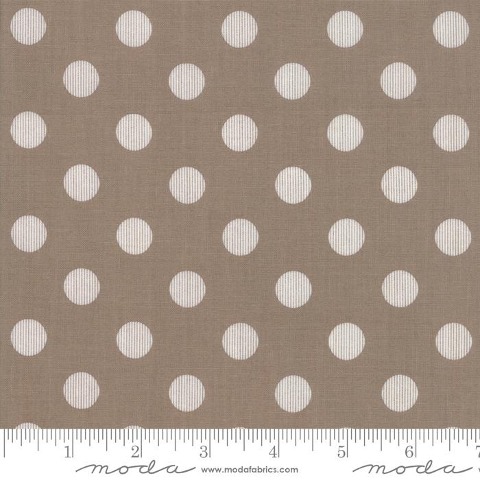 Harvest Road by Lella Boutique Modern Dots Chestnut 5103-13