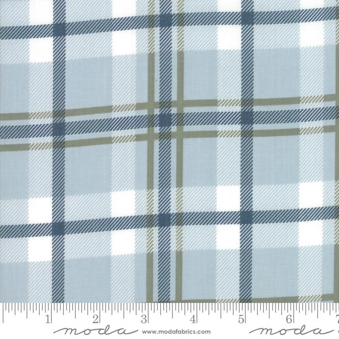 Harvest Road by Lella Boutique Forever Plaid Smokey Blue 5102-15