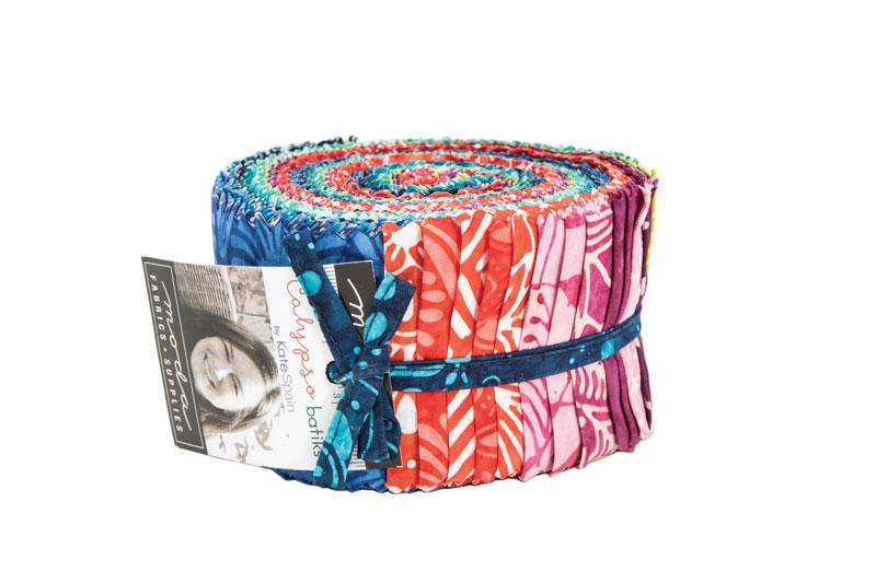 Calypso Batiks Jellyroll by Kate Spain for Moda Fabrics