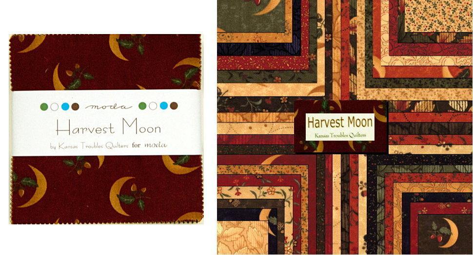 Harvest Moon Moda 5 Charm Pack by Kansas Troubles for Moda