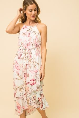 Floral Ruffle Dress from Mystree