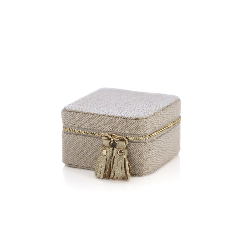 Gigi Square Jewelry Box from Shiraleah