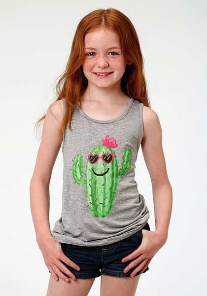 Girls Cactus Tank Top from Roper