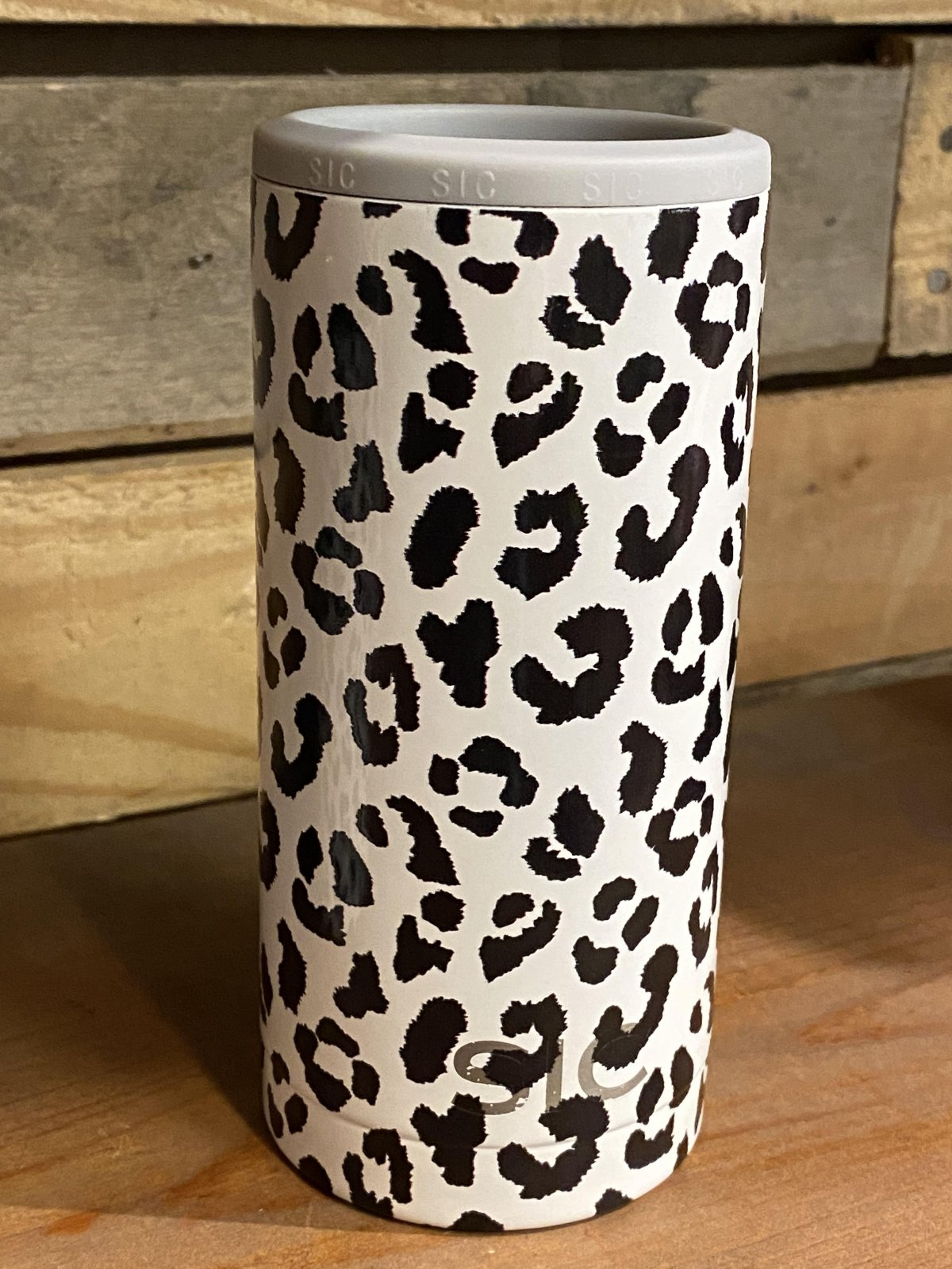 Slim Can Leopard Koozie from SIC