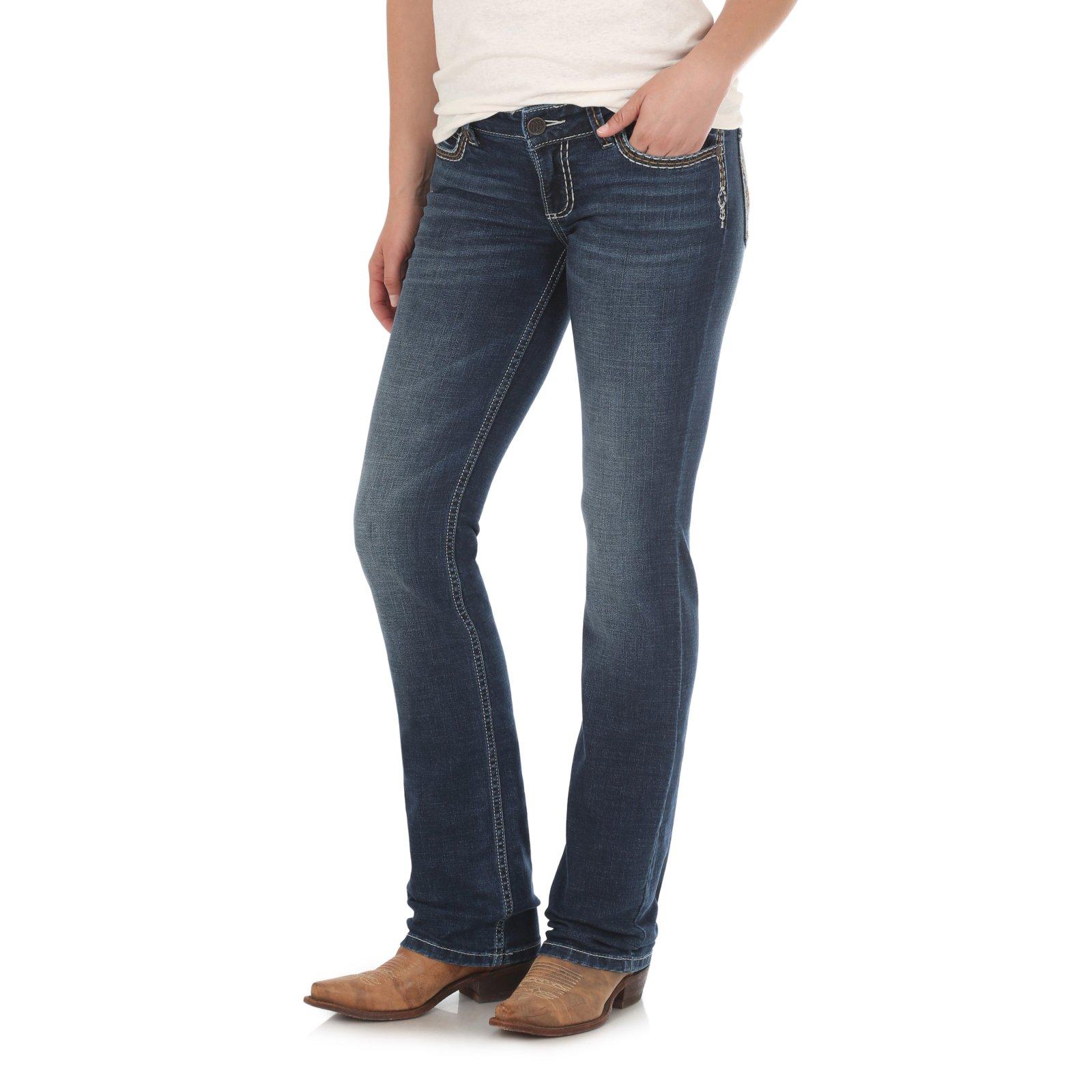 Retro Mae Mid-Rise Jean from Wrangler