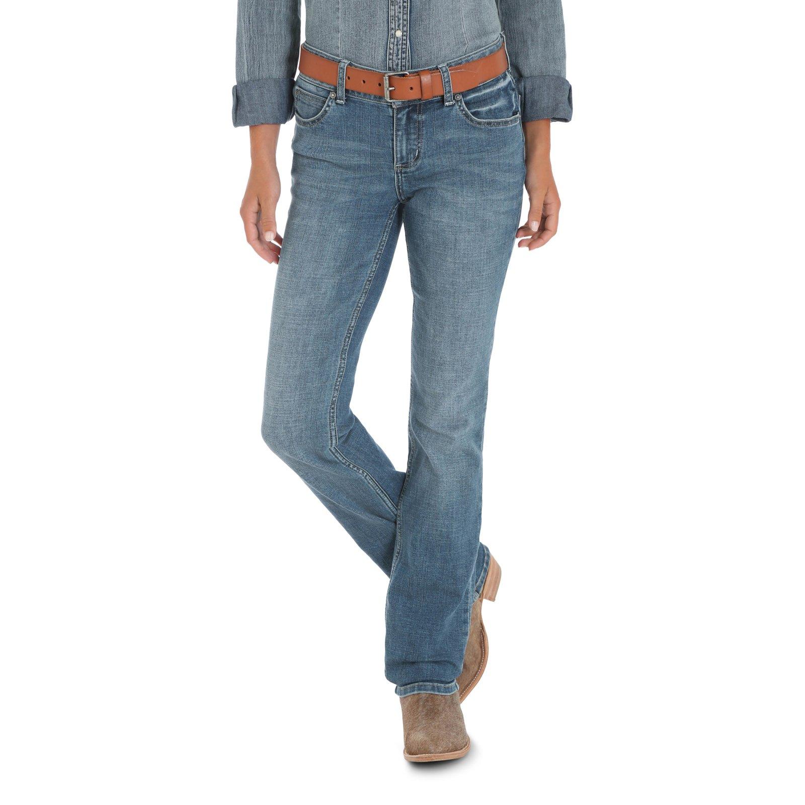 Mid-Rise Straight Leg Jean from Wrangler