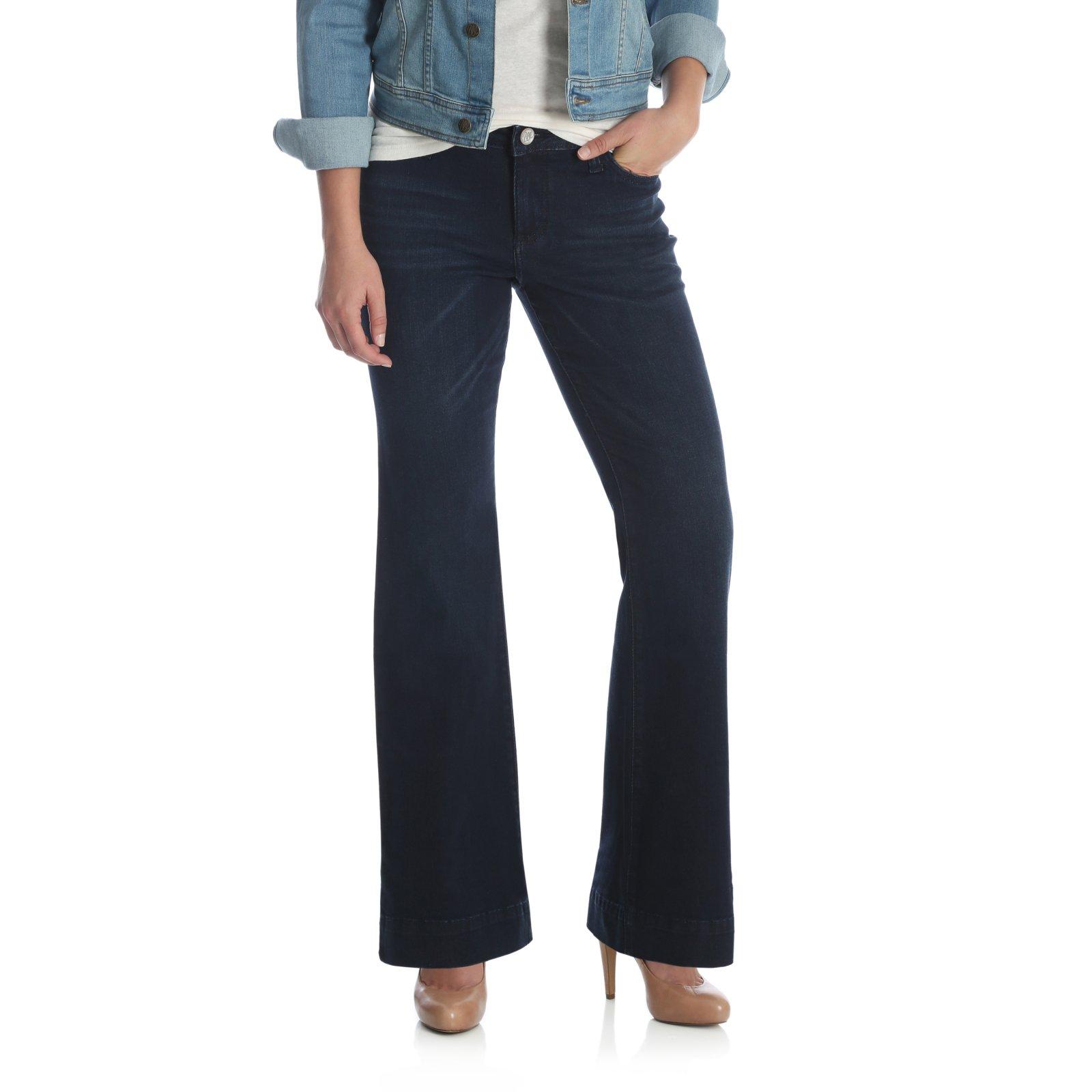 Ladies Retro Mae Trouser Jean from Wrangler