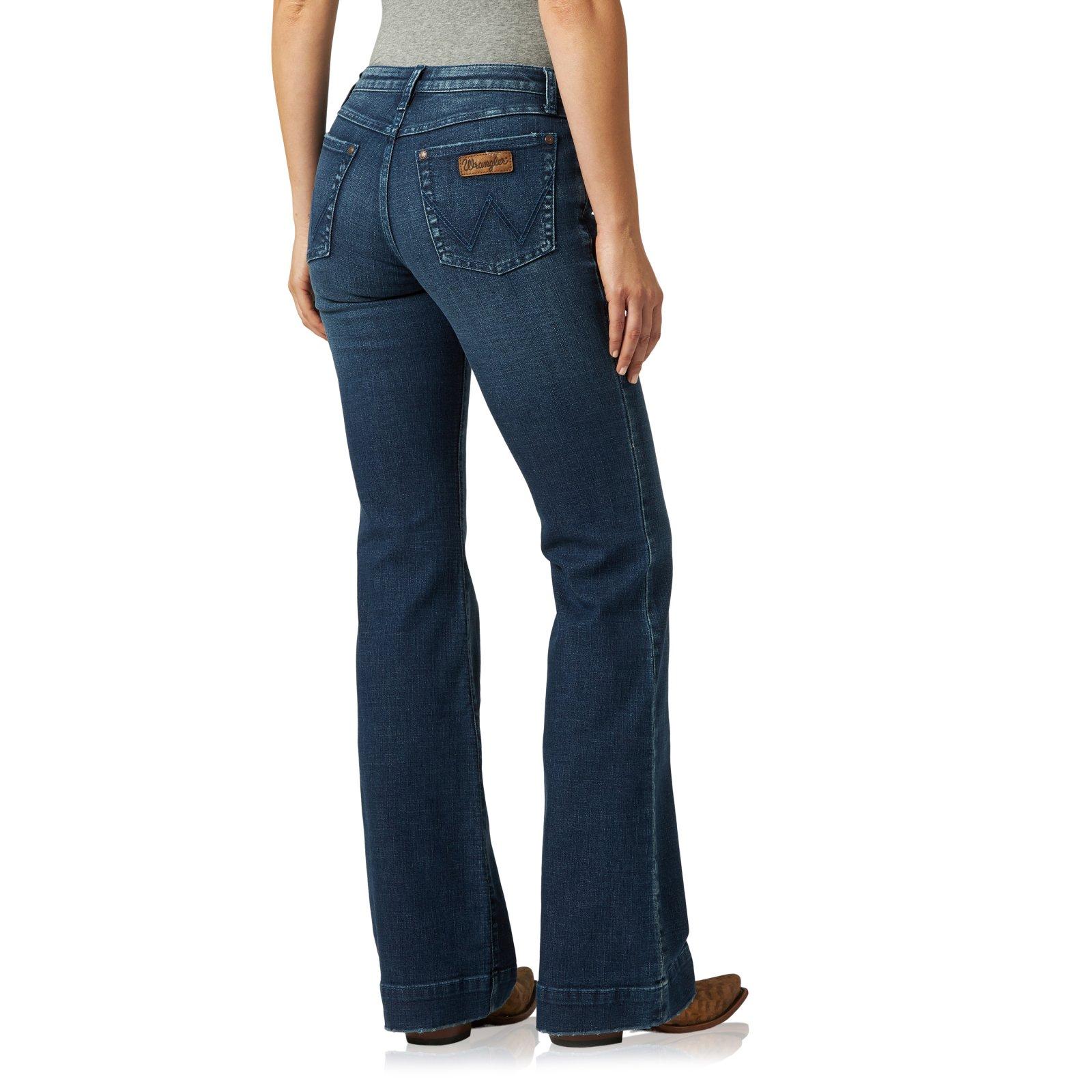 Ladies Retro Mae Sophia Trouser Jean from Wrangler