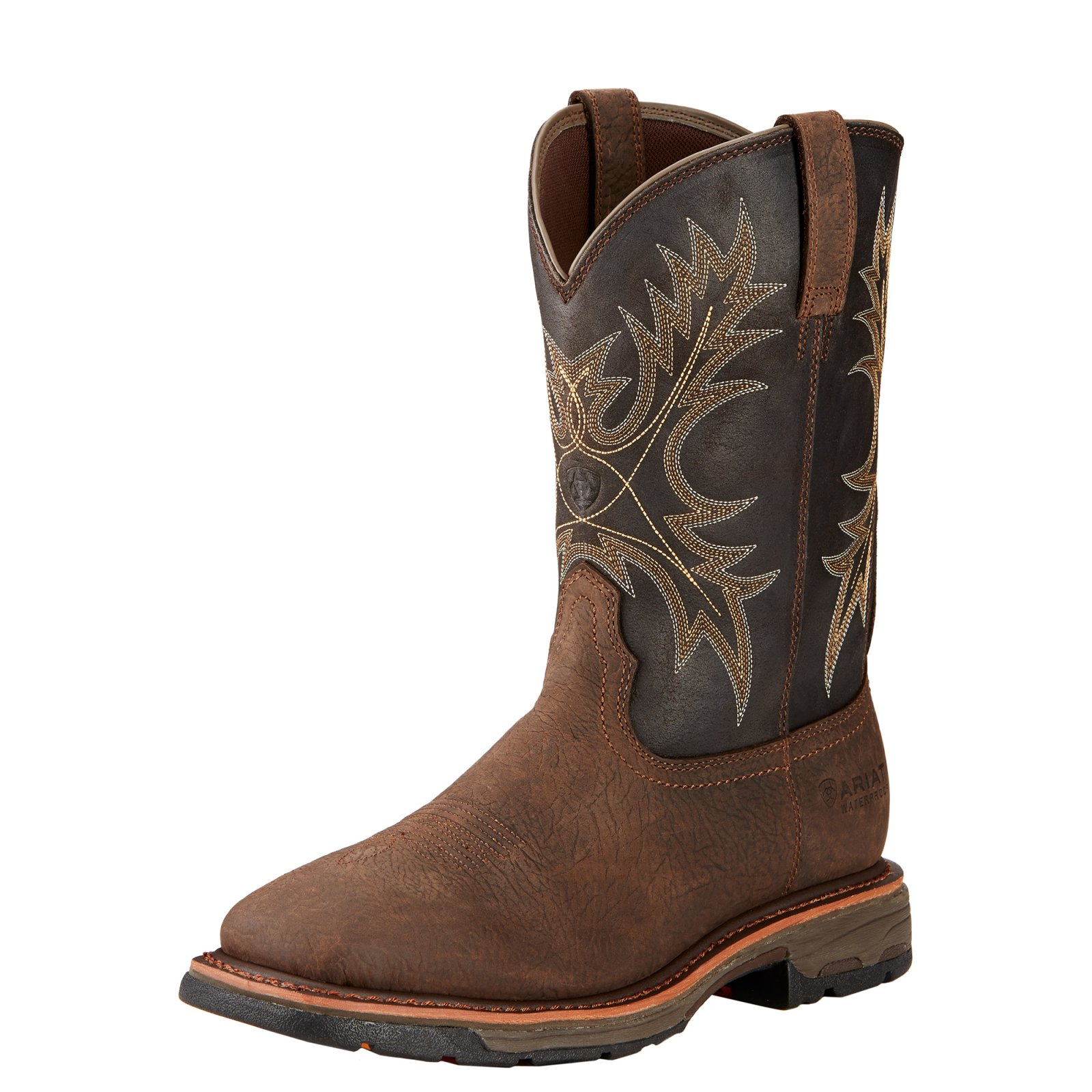 Workhog Waterproof Wide Square Toe Boot from Ariat