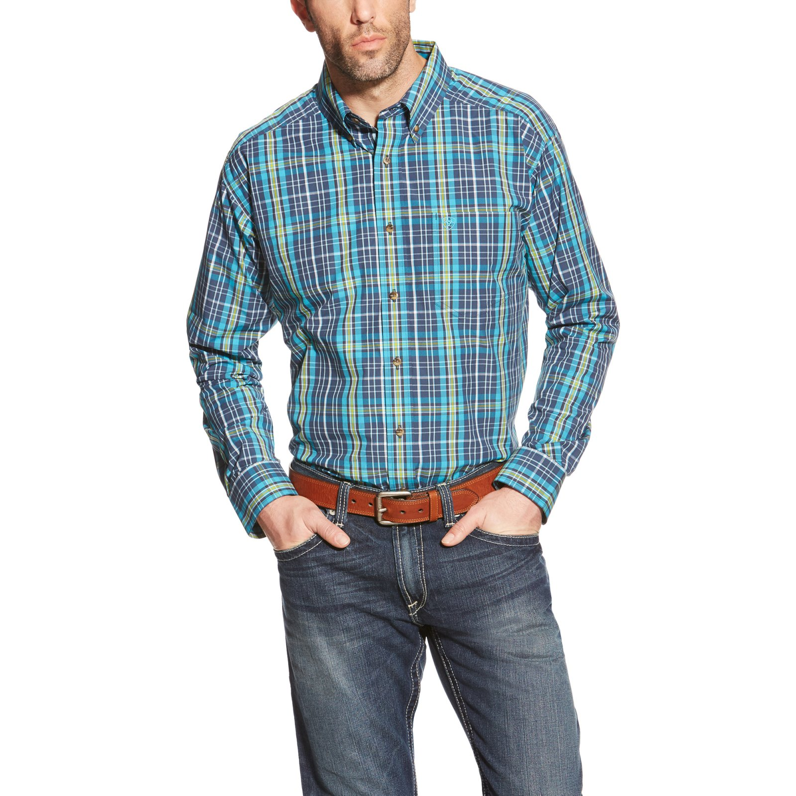 Men's Lucas Long Sleeve Performance Woven from Ariat